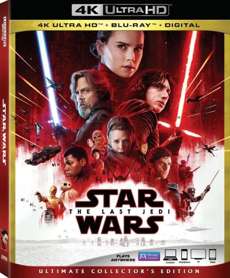 Star Wars: The Last Jedi Blu Ray