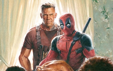 Josh Brolin and Ryan Reynolds in Deadpool 2