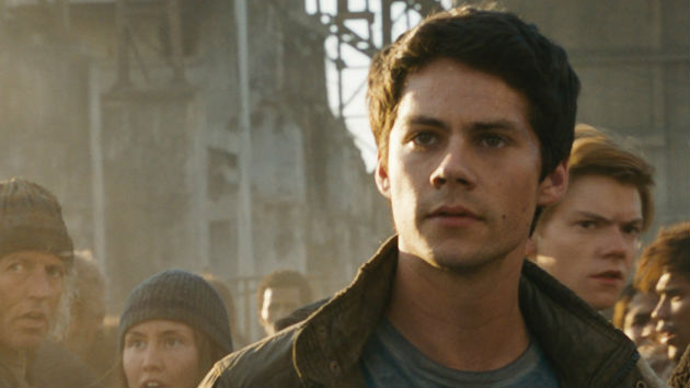 Dylan O'Brien in Maze Runner: The Death Cure