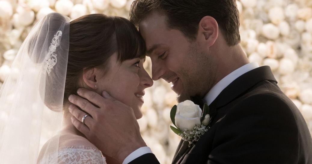 Dakota Johnson and Jamie Dornan in Fifty Shades Freed