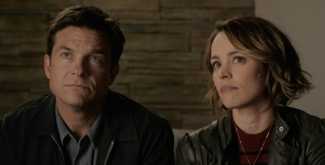 Jason Bateman and Rachel McAdams in Game Night