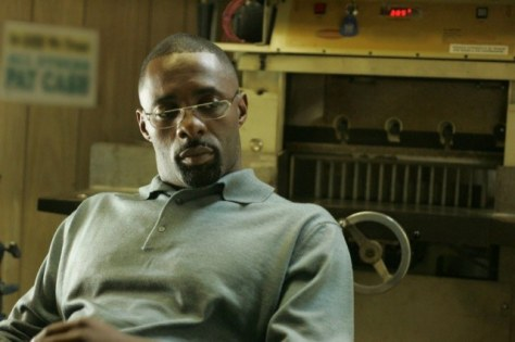 Idris Elba in The Wire