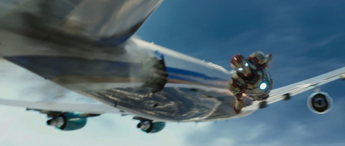 "My Favorite Scene: Iron Man 3 (2013) ""Air Force One Rescue"""