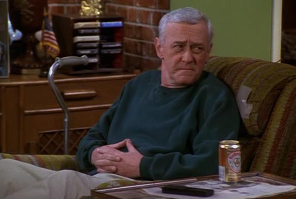 John Mahoney in Frasier