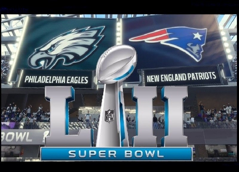 Super Bowl 52 Patriots vs. Eagles