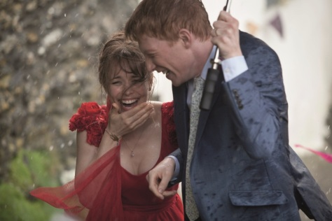 Rachel McAdams and Domhnall Gleeson in About Time