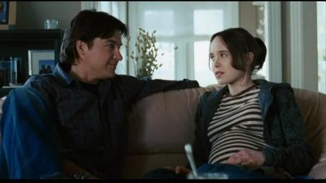 Jason Bateman and Ellen Page in Juno