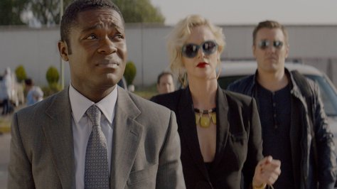 David Oyelowo, Margot Robbie, Joel Edgerton in Gringo
