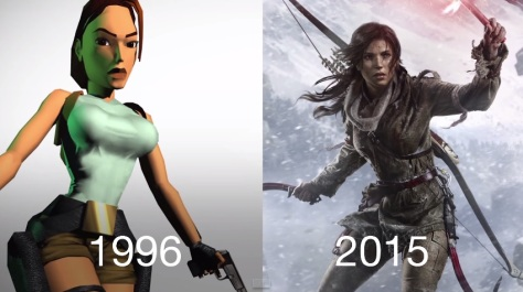 Tomb Raider Then vs. Now