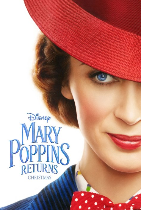 Emily Blunt in Marry Poppins Returns