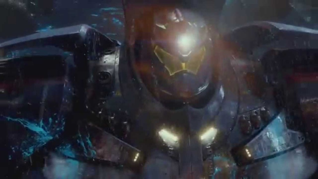 Gipsy Danger in Pacific Rim