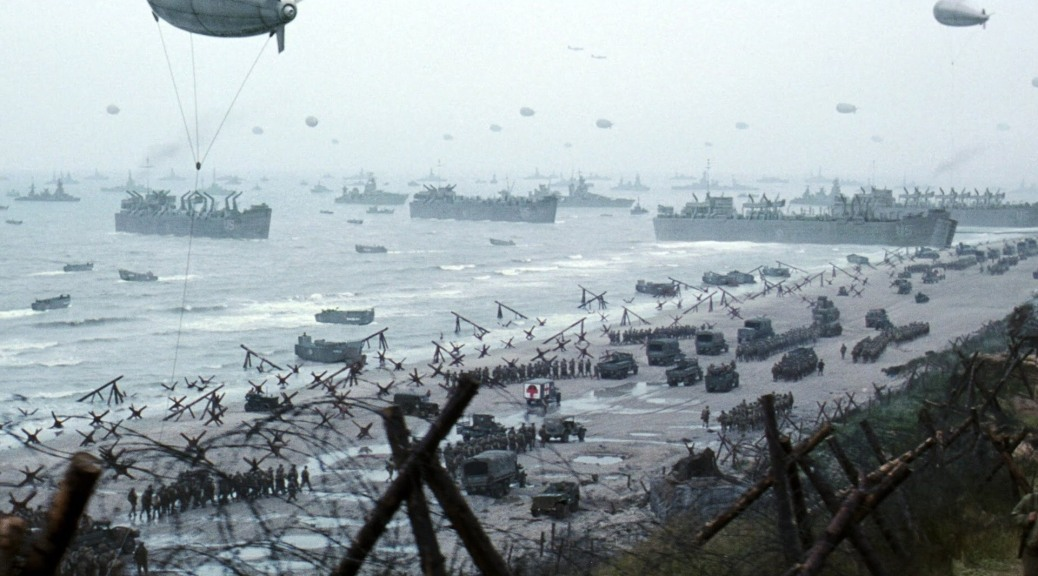 D-Day Scene in Saving Private Ryan