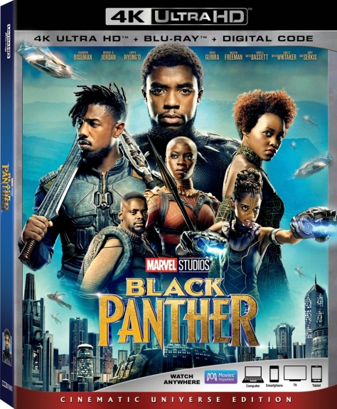 Black Panther Blu Ray