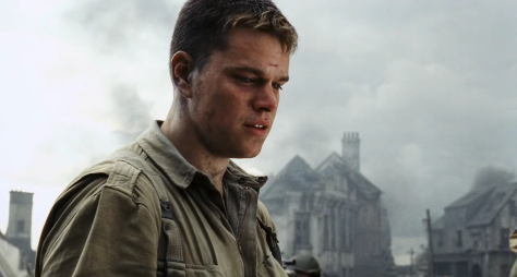 Matt Damon in Saving Private Ryan