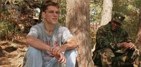 Matt Damon and Denzel Washington in Courage Under Fire