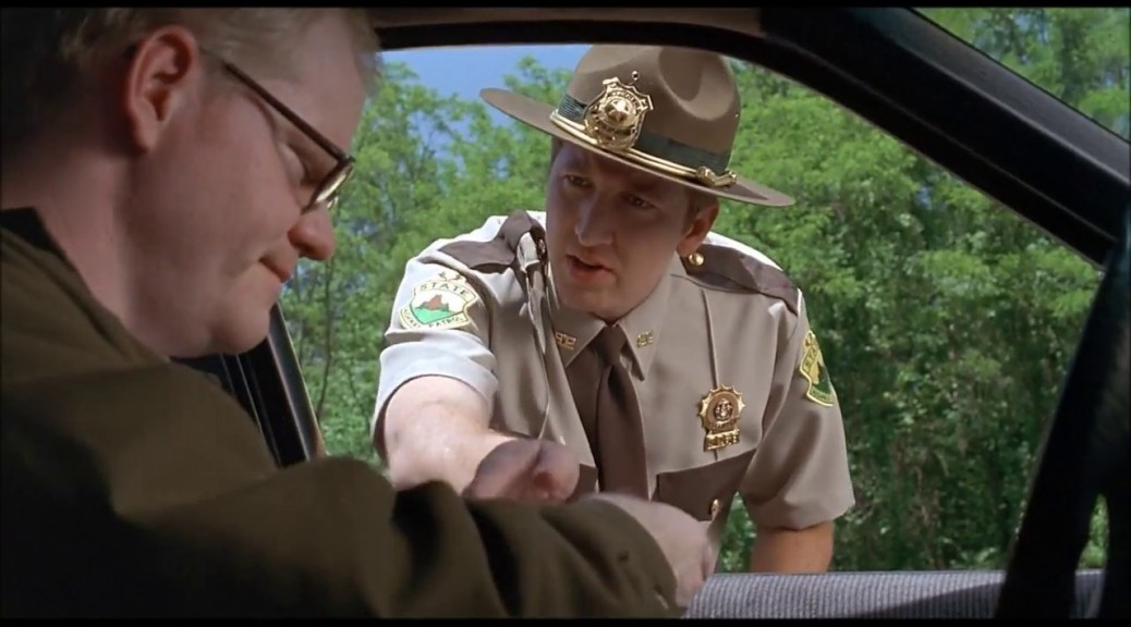 Jim Gaffigan in Super Troopers
