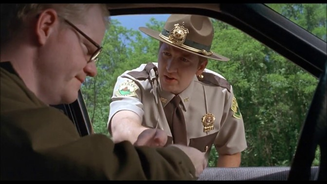 Jim Gaffigan in Super Troopers