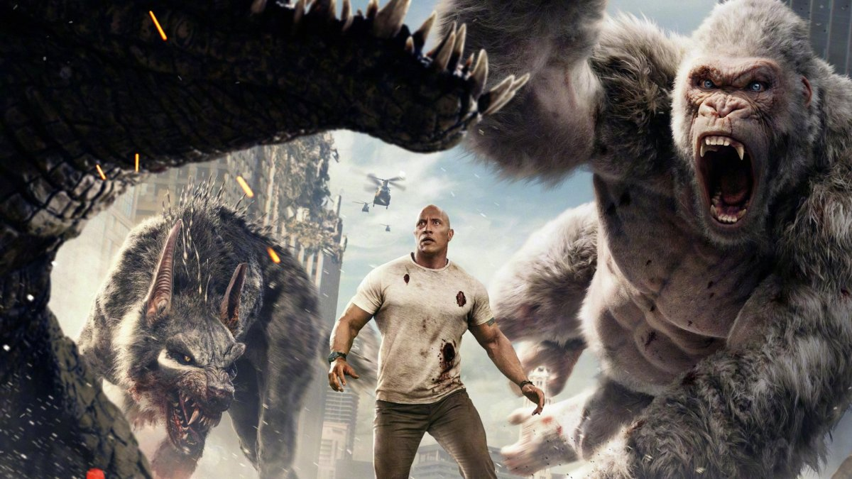 "Rampage Trailer #1 (2018) ""Big Meets Bigger"""