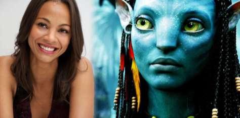 Zoe Saldana in Avatar 2