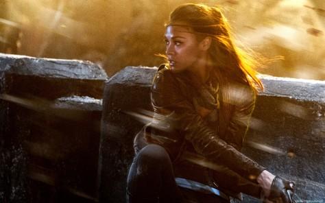 Zoe Saldana in Star Trek: Into Darkness