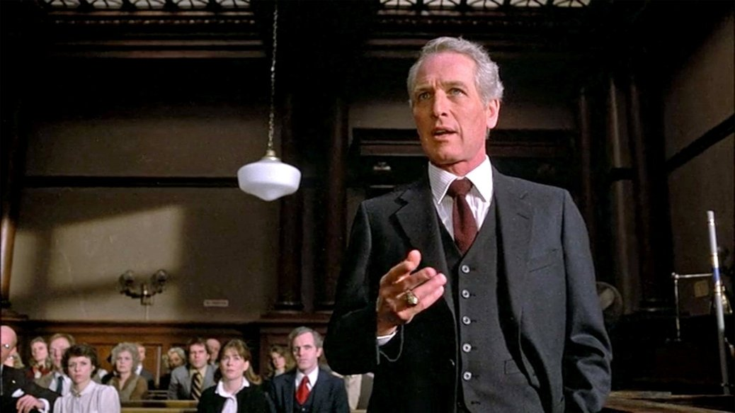 Paul Newman in The Verdict