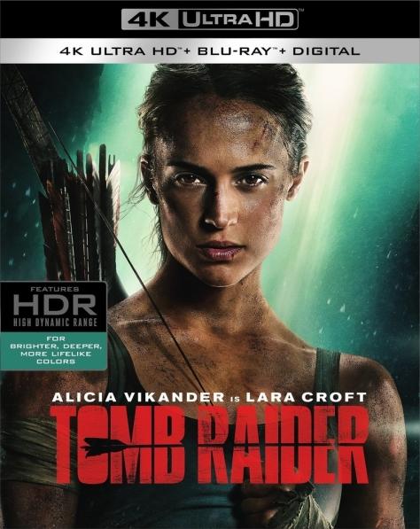 Tomb Raider Blu Ray