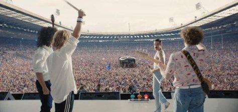 Rami Malek in Bohemian Rhapsody