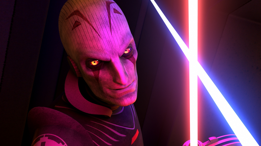 The Grand Inquisitor from Star Wars: Rebels Season One