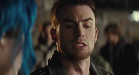 Chris Evans in Scott Pilgrim vs. the World