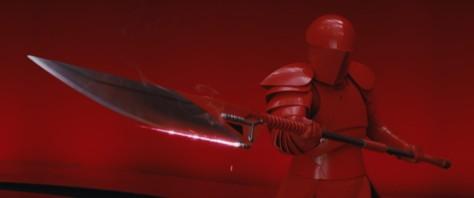 The Praetorian Guard from Star Wars: The Last Jedi