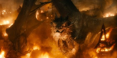Benedict Cumberbatch in The Hobbit: The Desolation of Smaug