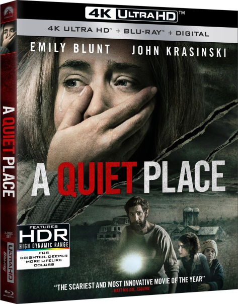 A Quiet Place Blu Ray