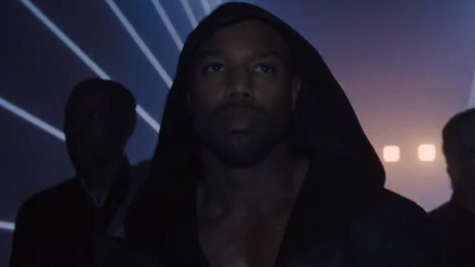 Michael B. Jordan in Creed 2