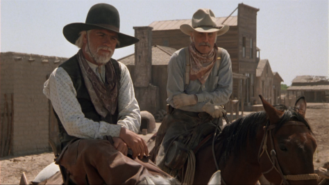 Tommy Lee Jones and Robert Duvall in Lonesome Dove