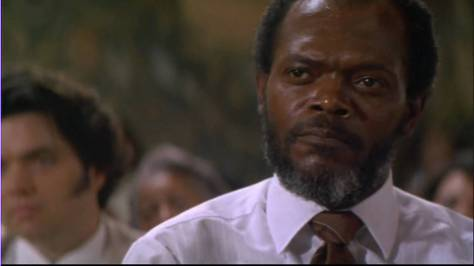 Samuel L, Jackson in A Time to Kill