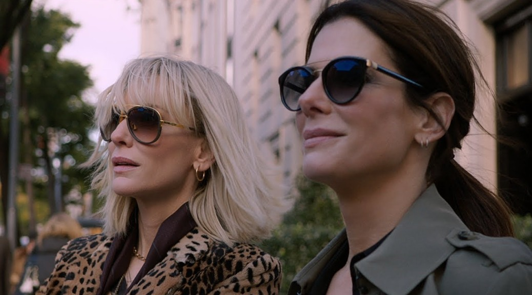 Cate Blanchett and Sandra Bullock in Ocean's Eight
