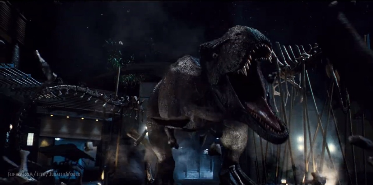 "My Favorite Scene: Jurassic World (2015) ""T-Rex vs. I-Rex"""