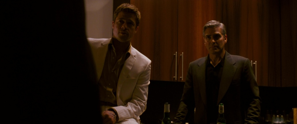 Brad Pitt and George Clooney in Ocean's 13