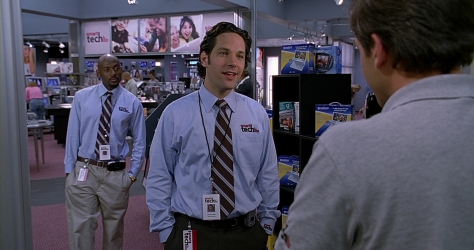 Paul Rudd in The 40-Year-Old Virgin