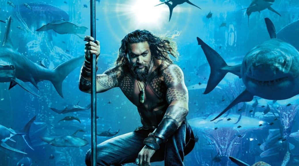 Jason Mamoa in Aquaman