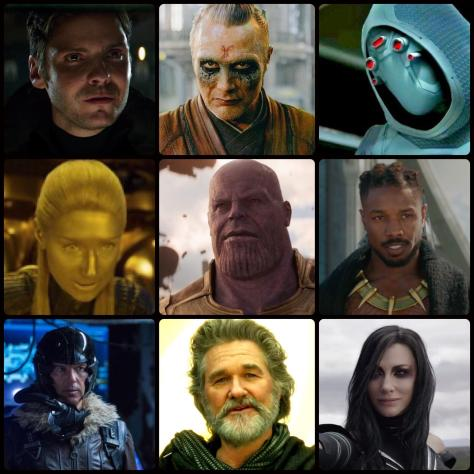 MCU Phase 3 Villains