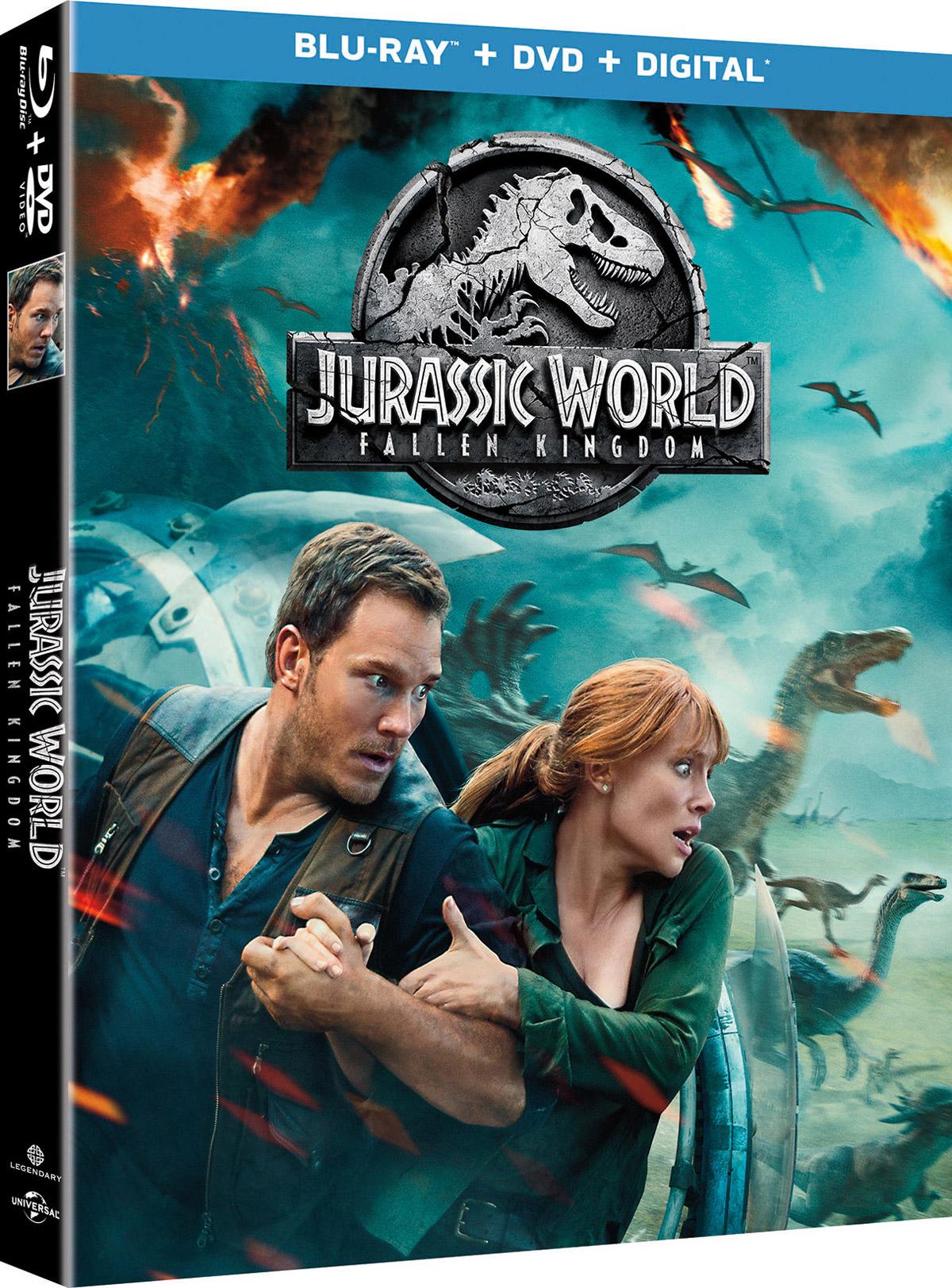 Jurassic Park: Fallen Kingdom Blu Ray