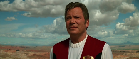 William Shatner in Star Trek: Generations