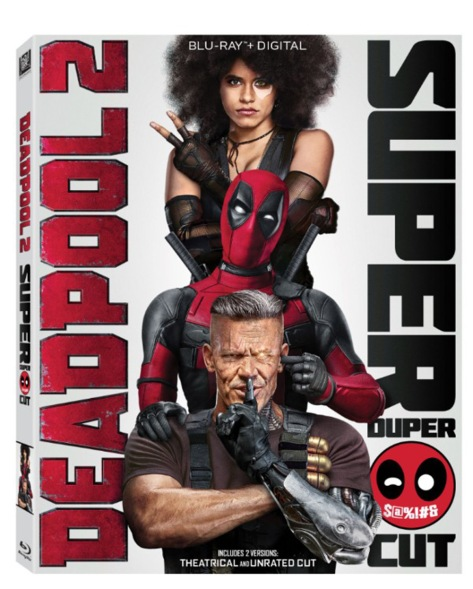 Deadpool 2 Blu Ray