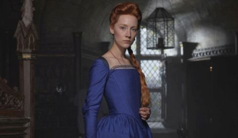 Saorise Ronan in Mary Queen of Scots