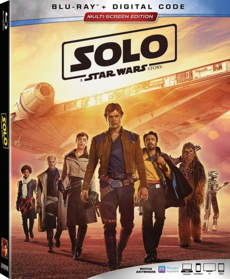 Solo: A Star Wars Story Blu Ray
